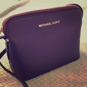 Michael Kors Purple Crossbody